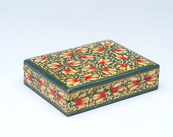 Vintage wooden box, Decorative wooden box, jewelry box, wooden trinket box, storage box, jewellery box, wooden box, Christmas gift