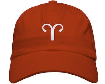Taurus Zodiac Sign Baseball Dad Hat Strapback Astrology Horoscope