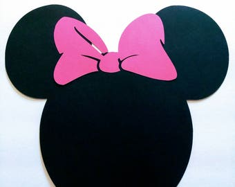 Minnie Mouse Placemats, Minnie Mouse Table Setting, Minnie Table Mat, Minnie Table Decoration, Minnie Mouse Birthday, Minnie Mouse Party