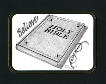 Just Believe a pencil Bible drawing by Artist Becky Terpening of TerpCreek.com