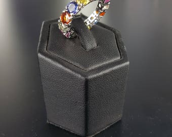 Ring color Sapphire