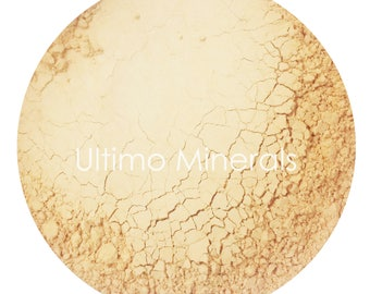 Ultimo Minerals SUMMER BISK Light Concealer All-Natural Kosher Full-Coverage Mineral Cover Up - Soft Pearlescent Finish - FREE Shipping!