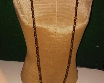 Handmade necklace w/tassel & earrings