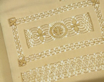 Japanese Kimono Obi / Vintage Silk Obi sash / Nagoya-Obi / 040909 sd