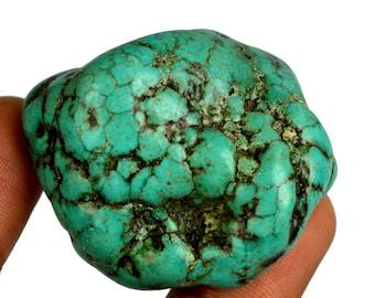 Natural 255.50 Ct. Uncut Arizona Mine Kingman Turquoise High Quality Gemstone Rough