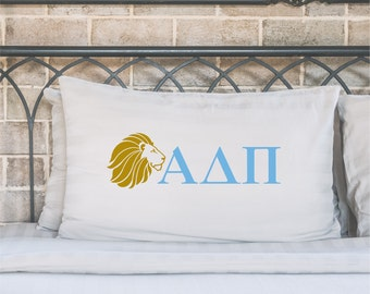 alpha delta pi, ADpi, alpha delta pi pillow case, ADpi pillow case, ADPI gift, sorority gift, sorority pillow case, pillowcase, big little