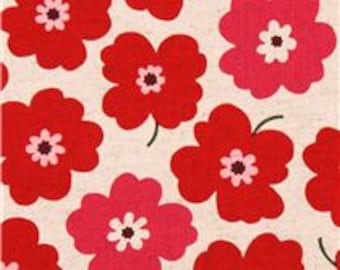 Poppies Red Drool Pads