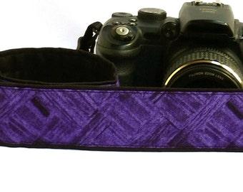 Purple Camera Strap. DSLR SLR Camera Strap. Camera Strap. Camera Accessories. Personalized Camera Strap