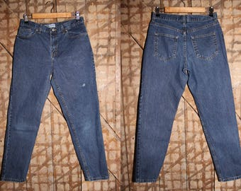 Vintage Faded Glory jeans , 90s High waisted jeans , 32 33 Waist , Faded Glory Classic Fit Jeans , 90s tapered jeans , Vintage womens jeans