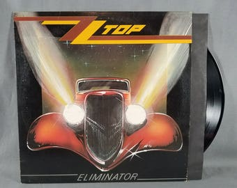 Vinyl ~ ZZ Top ~ Eliminator ~ Record ~ Sharp Dressed Man ~ Music ~ Legs ~ LP ~ Gimme All Your Lovin ~ Dirty Dogs ~ Album ~ My Nostalgic Life
