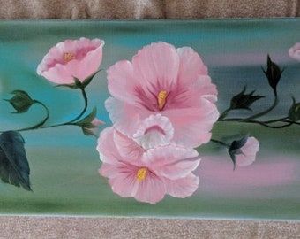 Flower Painting - Pink #2