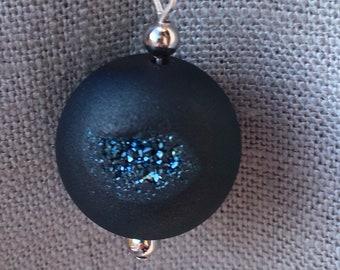 Drusy Sphere Pendant