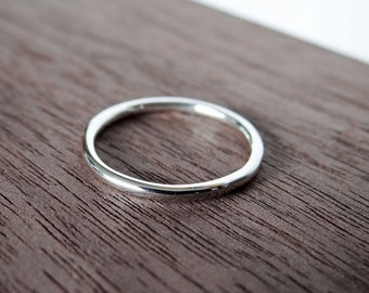 Sterling Silver Ring - Sterling Silver Stacking Ring