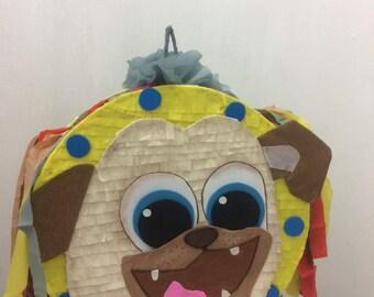 Puppy dog piñata cumpleaños ,