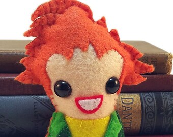Drop Dead Fred plushie (made to order)
