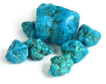 59.80 Ct. Natural Arizona Mine Kingman Turquoise Gemstone Rough Lot Fresh Arrival