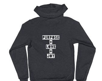 Be the Change/ P+L+J Hoodie