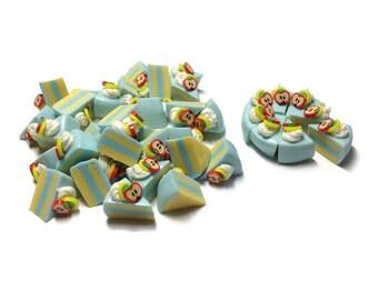 Miniature Food - Cake Slice Fake Sweet Dessert Supply Dollhouse Miniature -MFS294