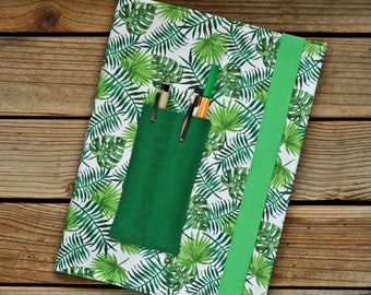 MTO Composition notebook cover - Leaves