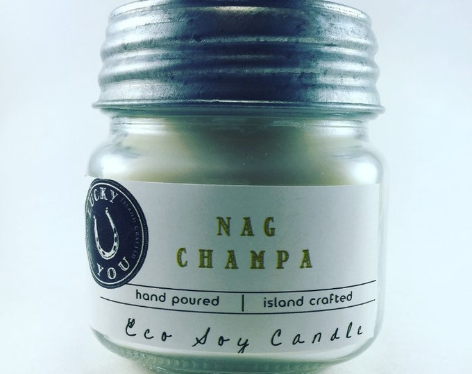 Featured listing image: Nag Champa Eco Soy Vegan Candle