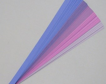 Purple and Plums Mix : Lucky Stars Paper Strips (100)