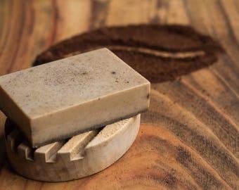 Coffee & Shea Butter Goats Milk Soap