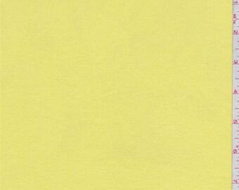 Lemon Yellow Jersey Knit, Fabric By The Yard