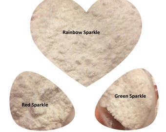 Nail Art Glitter / Mermaid Effect Pixie Fairy Dust White Iridescent Glitter Shimmer Effects/ FINE Grade