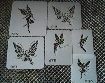 Fairies Stencil Set 113!
