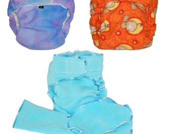 Cloth Diaper Pattern Aio Or Fitted Instant Download