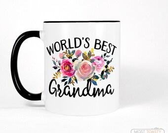 Mothers Day Gift for Grandma Mug, Cute Birthday Gift for Grandma Gift, Grandmother Coffee mug