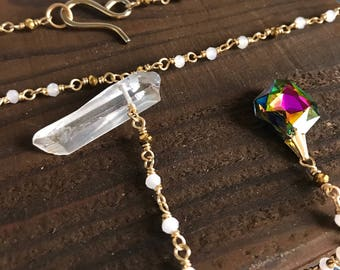 Halley's Comet Necklace