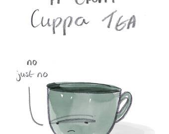 A crap cuppa tea