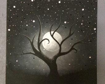 Moon Kissed Painting