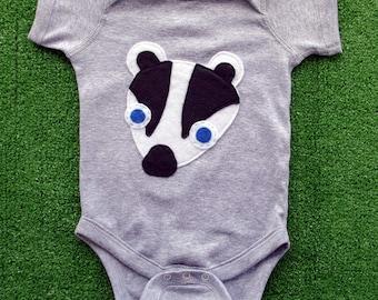 Kawaii Badger Infant Bodysuit
