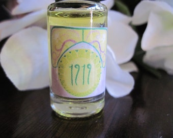 1919--Orange Blossom, Peach, and Bergamot Chypre Perfume--5ml Oil Perfume