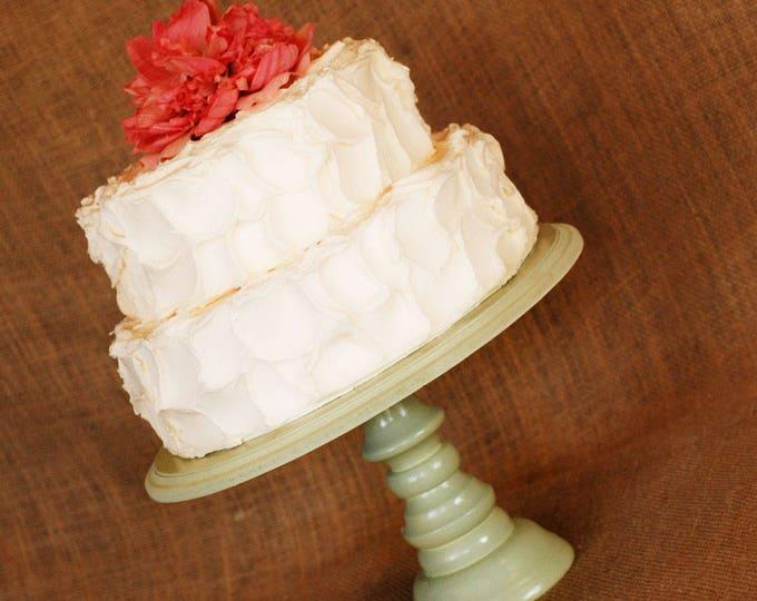 Mint Green Custom Cake Stand