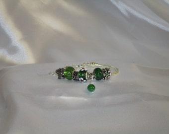 Green Bouquet Charm