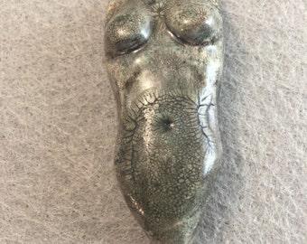 Jane-Polymer Clay Torso Cabochon