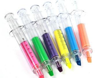 Syringe Pens - Novelty Gothic Medical Nurse Doctor Ball Pen