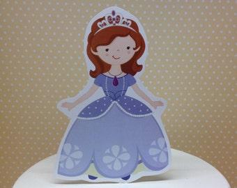 Princess Sofia the First Party Cake Topper