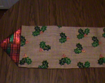 SALE Festive Holiday Table Runner