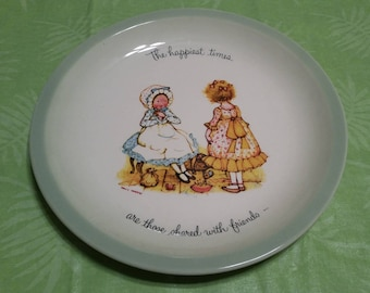 Holly Hobbie Collection Edition Plate
