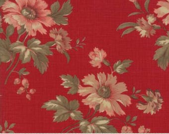 Atelier De France - Rouge 13800 11 - Moda Fabrics 100% Cotton Quilting Fabric by French General