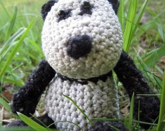 Noodle - a hand crocheted panda!