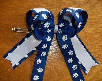 Cheer Bow Custom made in Your School Colors