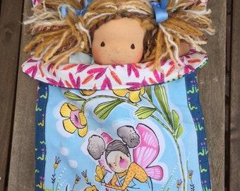 Waldorf Doll Sleeping Bag