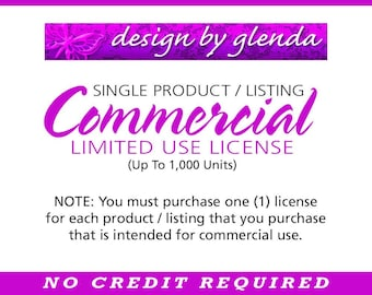 Single Product/Listing Commercial Limited Use License