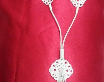 Kazaziye Handmade Silver Necklace