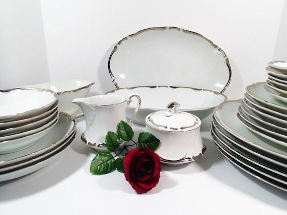& Starlight 3656 Vintage dinnerware set Sears \u0026 Roebuck Harmony